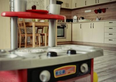 Family Residence Apartman Eger konyha