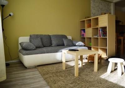 Family Residence Apartman Eger nappali