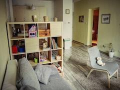 Apartman Eger nappali